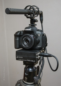 DSLR audio